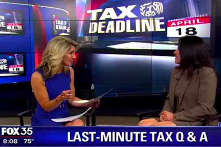 tax deadline interview